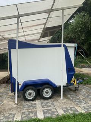 ขาย รถพ่วงกล่องน้ำหนักเบา Tow-A-Van Box Trailers รูปที่ 1