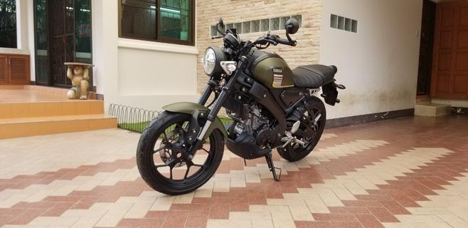ขาย Yamaha XSR 155 ปี2019 สีเขียวดำ สไตล์ Heritage รูปที่ 1