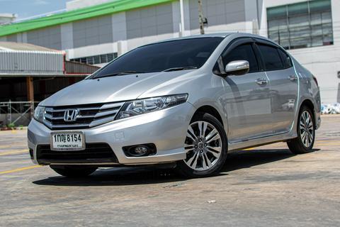 รถบ้าน ปี 2012  Honda City 1.5SV A/T สีเทา รูปที่ 1