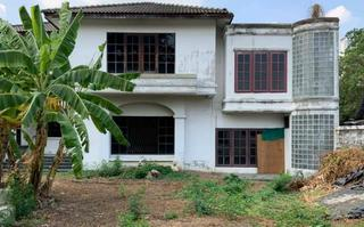 เจ้าของให้เช่าไม่แพง ที่ดินขนาด 178.6 ตารางวา พร้อมโครงสร้างบ้าน ซอยสบายใจ ห้วยขวาง  รูปที่ 3
