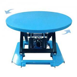 ลิฟท์ยกของ โต๊ะยกไฮดรอลิค รับน้ำหนัก 2 ตัน  ELECTIC ROUND LIFT TABLE รูปที่ 1