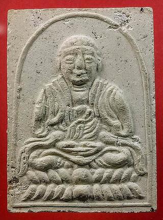 พระผงงานฝังลูกนิมิต วัดถ้ำเขาน้อย จ.กาญจนบุรี พ.ศ.2519 รูปที่ 3