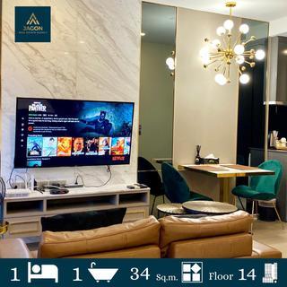 Ashton Asoke For rent 1 bed 34 sq.m. Fl.14 รูปที่ 1