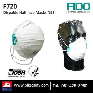 FIDO Masks หน้ากากอนามัยกันฝุ่น N95 รุ่น F720 รูปที่ 1