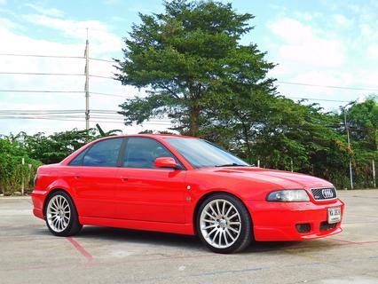 💥 AUDI ออดี้ A4 ปี 1997 เกียร์ออโต้ ไม่เคยชน สมถนะเยี่ยม ของ แต่ง เพียบ รถเก๋ง มือสอง ราคาถูก พร้อมใช้งาน รูปที่ 1
