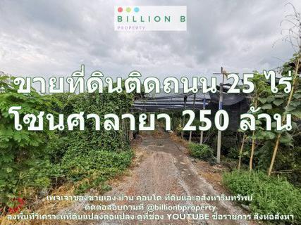 ขาย ที่ดิน  25 ไร่ เหมาะสำหรับ Wellness City Land for sale, suitable for building a wellness city. ปิดประกาศ รูปที่ 1