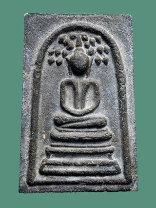 พระสมเด็จปรกโพธิ์ พิมพ์อกร่อง เนื้อผงใบลาน หลวงปู่โต๊ะ วัดประดู่ฉิมพลี  ปี 2518...สวยๆ รูปที่ 1