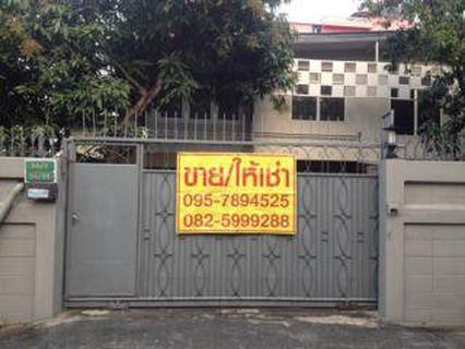 ให้เช่าด่วน บ้านเดี่ยว 2 ชั้น ตรงข้ามพันธุ์ทิพย์ งามวงศ์วาน  รูปที่ 1