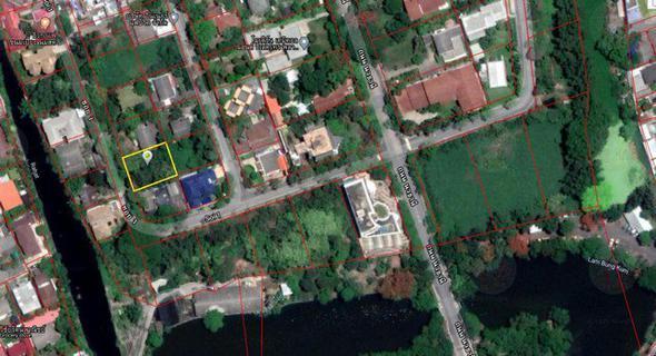ขายที่ดินเปล่า 147 ตรว. หมู่บ้านนวธานี ถนนเสรีไทย ซอยต้นโครงการ ใกล้ทางขึ้น-ลงมอเตอร์เวย์ รูปที่ 2