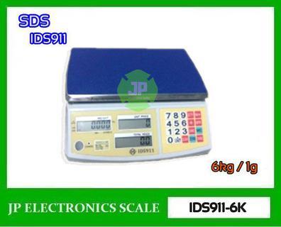 เครื่องชั่งดิจิตอล คำนวณราคา ละเอียด1g ยี่ห้อ SDS รุ่น IDS911 รูปที่ 1