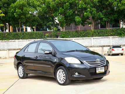 Toyota Vios 1.5 E ปี 2011 สีดำ รูปที่ 1