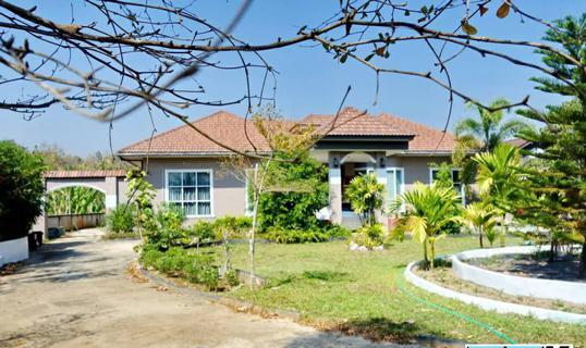 Beautiful home for saleบ้านสวยขายถูก เนื้อที่2-0-50ไร่ ด้านหน้าติดถนนเส้นเดียวกับสิงค์ปาร์ค กำลังขึ้น 4 เลน รูปที่ 1
