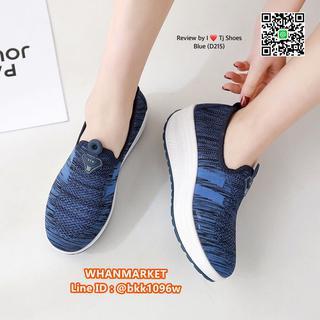 รองเท้าผ้าใบ เสริมส้น 2 นิ้ว วัสดุผ้าใบอย่างดี พื้นยาง  รูปที่ 6