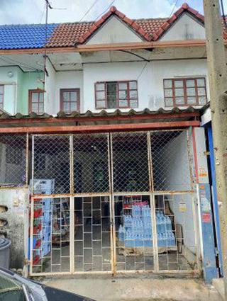 ขาย บ้านแฝด ติดถนนเมน ม.เพชรเกษมธานี 96 ตรม. 16 ตร.วา ราคาถูก รูปที่ 1