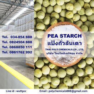 Pea Starch, พีสตาร์ช, พีสตาร์ท, สตาร์ชถั่วลันเตา รูปที่ 2