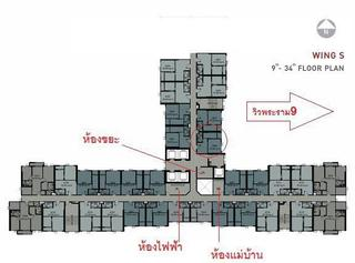 For Sale  Life Asoke sale with tenant รูปที่ 6