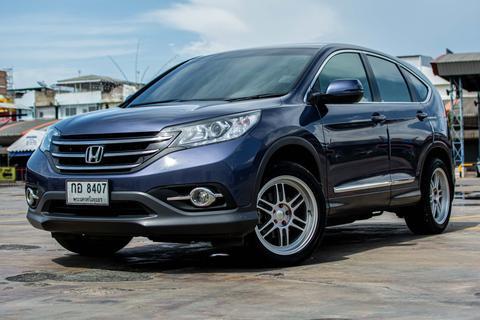 ปี 2013  Honda CR-V 2.0E ล้อ RPFI ท่อซิ่ง หน้าจอแอนดรอย A/T สีน้ำเงิน รูปที่ 1