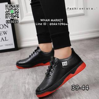 รองเท้าผ้าใบหนังนิ่ม แฟชั่นผู้ชาย วัสดุหนังpu คุณภาพดี  รูปที่ 5