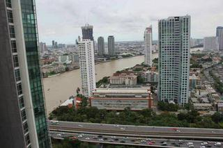 2 beds and 1 office room for rent at the River  รูปที่ 6