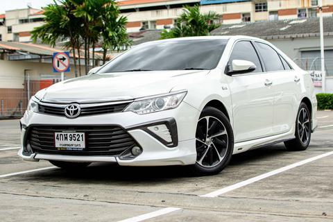 ปี 2016 Toyota Camry 2.0G Extremo AT สีขาว  รูปที่ 1