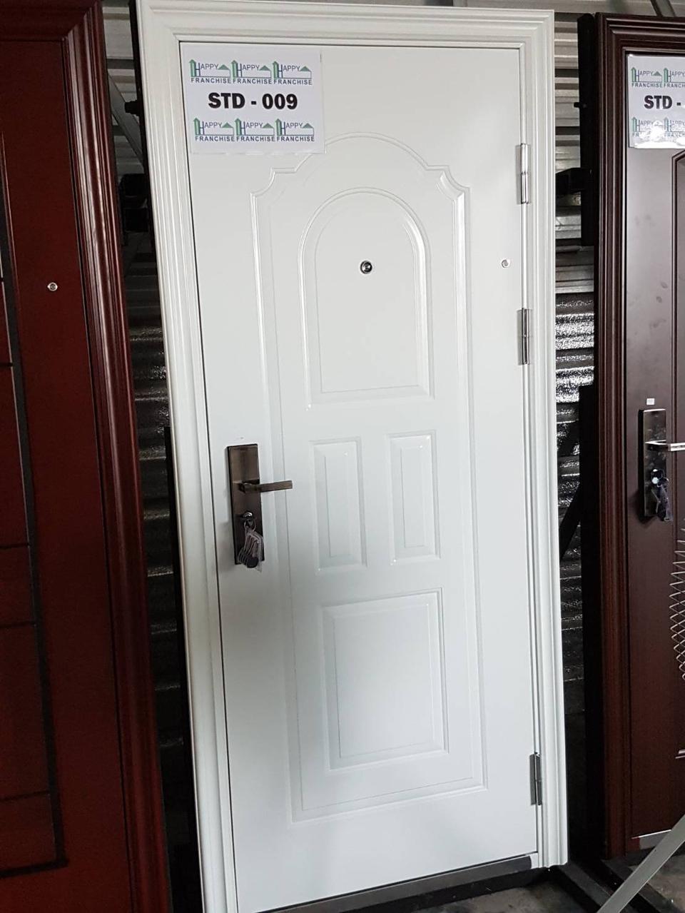 ประตูนิรภัย ประตูสำเร็จรูป ประตูบานเปิด รูปที่ 4
