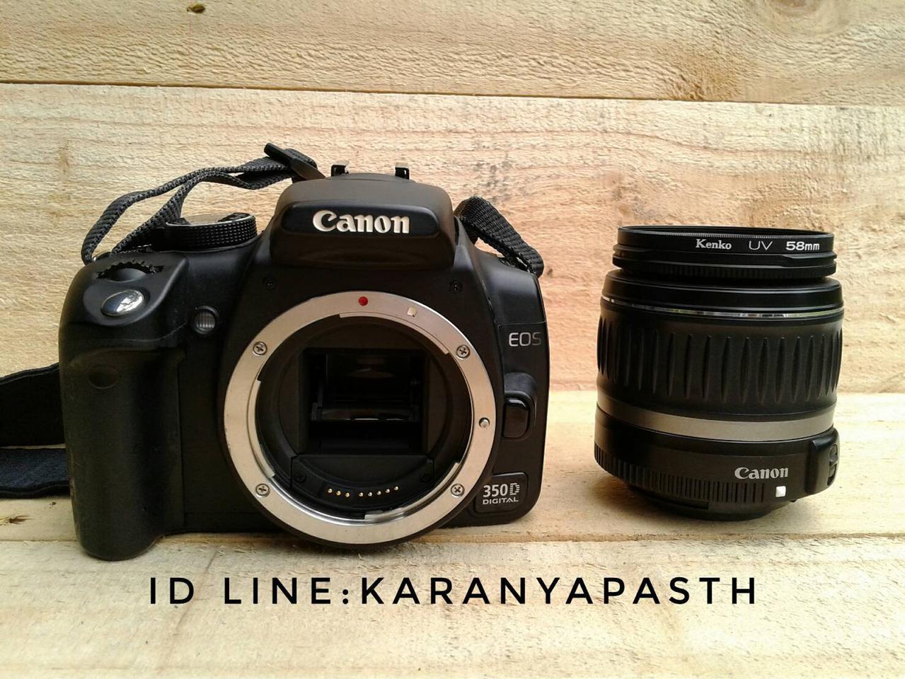 กล้อง canon eos 350d รูปที่ 2