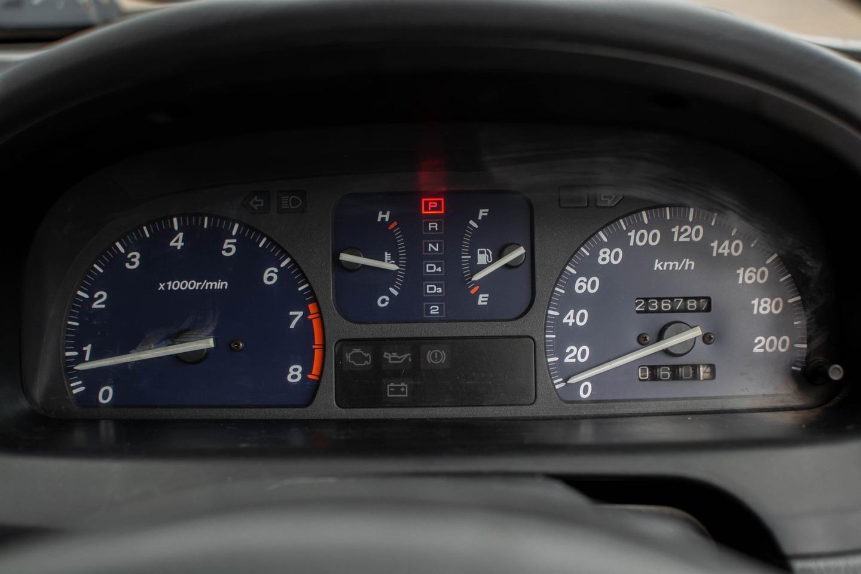 รถบ้าน ปี 2001 Honda City 1.5EXI เบนซิน สีเทา รูปที่ 6
