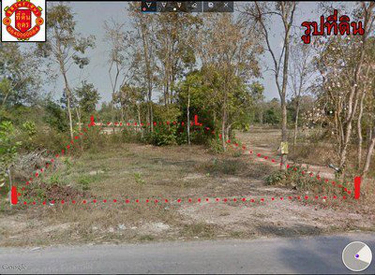 **ลดราคา**ขายที่ดินเปล่า (1-1-19) จุดสังเกต(วัดป่าภูทอง) บ้า รูปที่ 3