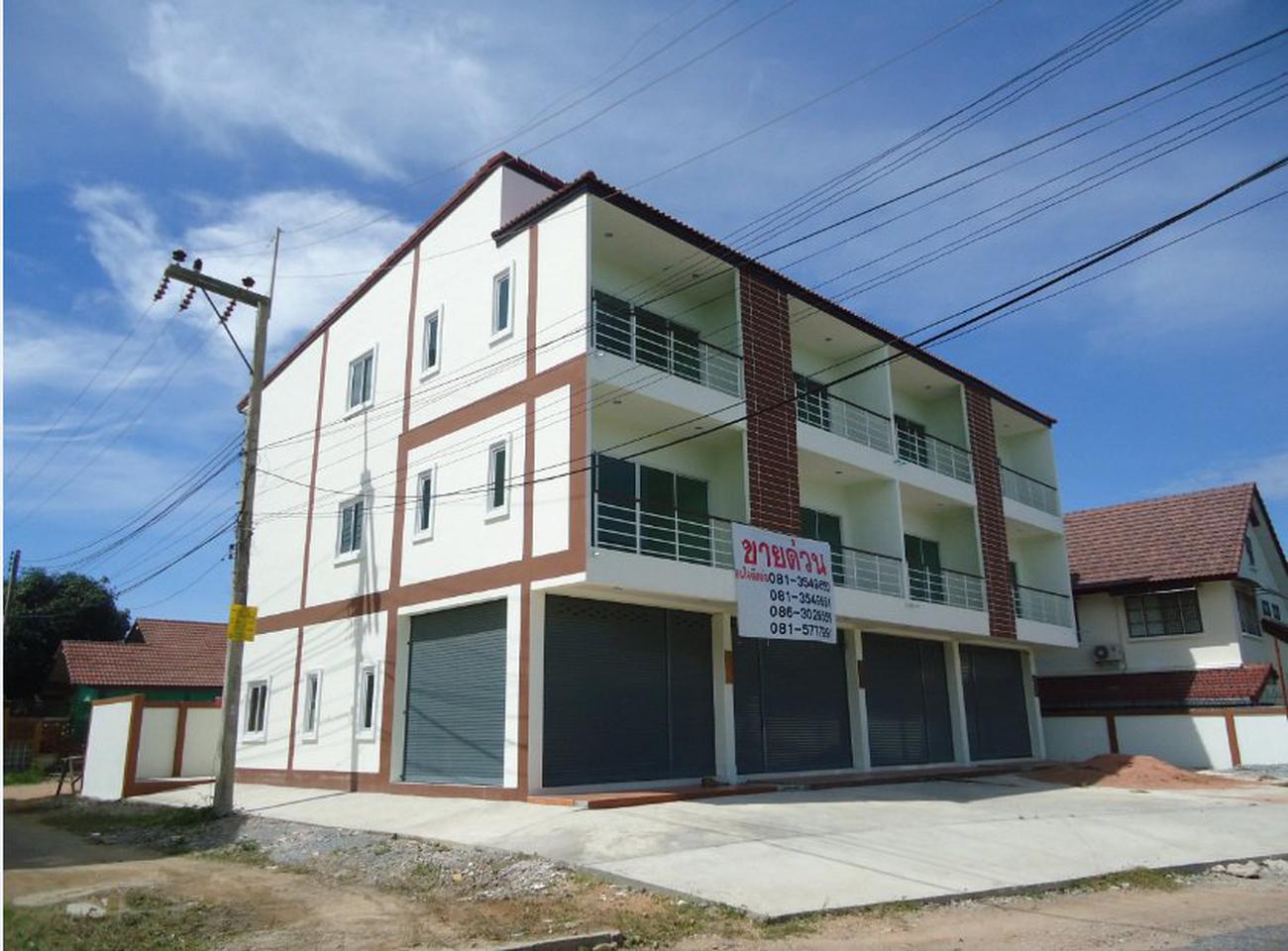 อาคารสร้างใหม่ 3 ชั้น จำนวน 2 คูหา ติดถนนทุ่งกลม ตาลหมัน 5 เข้าจาก ถ. สุขุมวิท 89 (พัทยา) รูปที่ 2