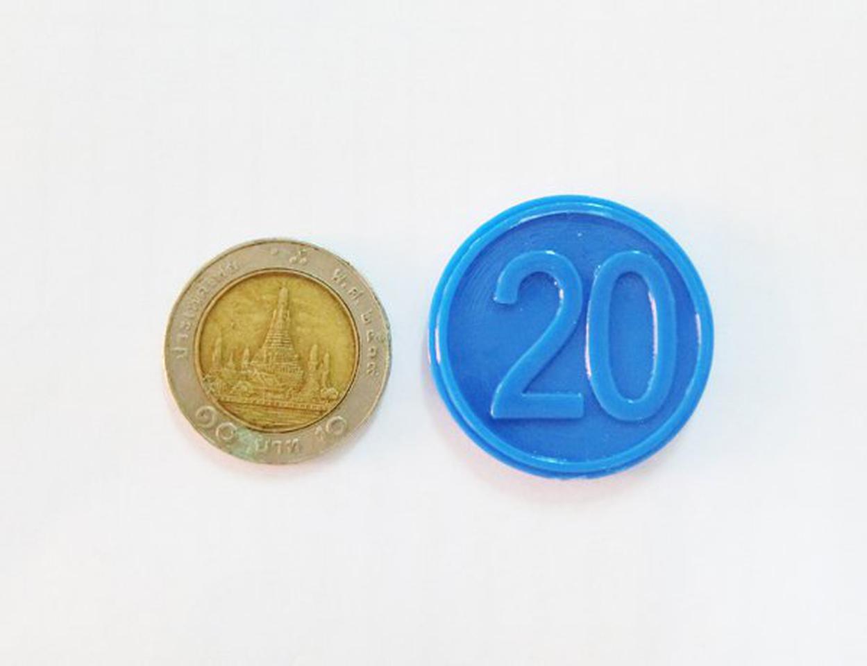 ขายเหรียญชิป คูปอง เหรียญชิพพลาสติกราคาถูกที่สุด รูปที่ 3
