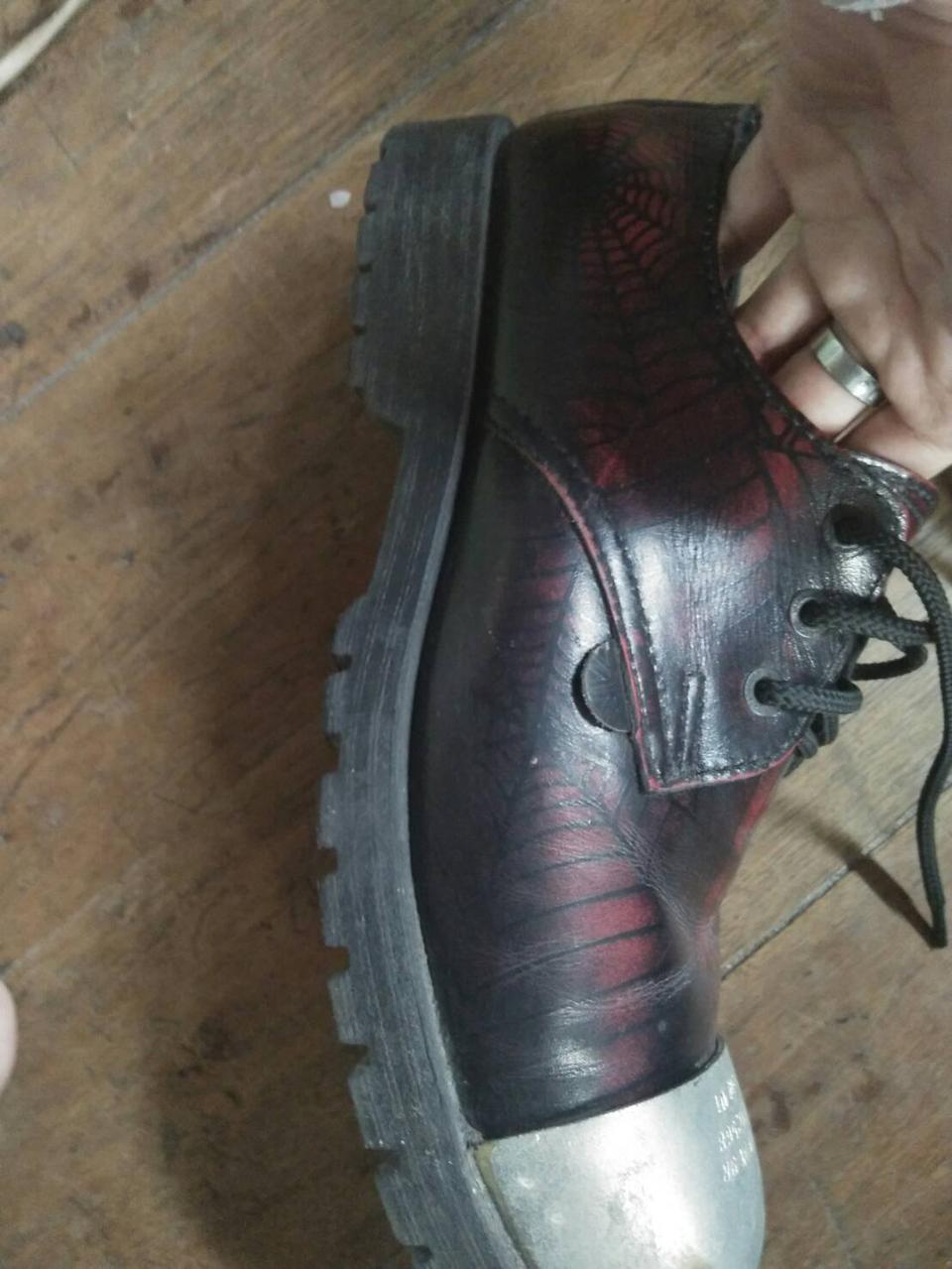 รองเท้าunderground แมงมุมเเดง 7uk รูปที่ 4