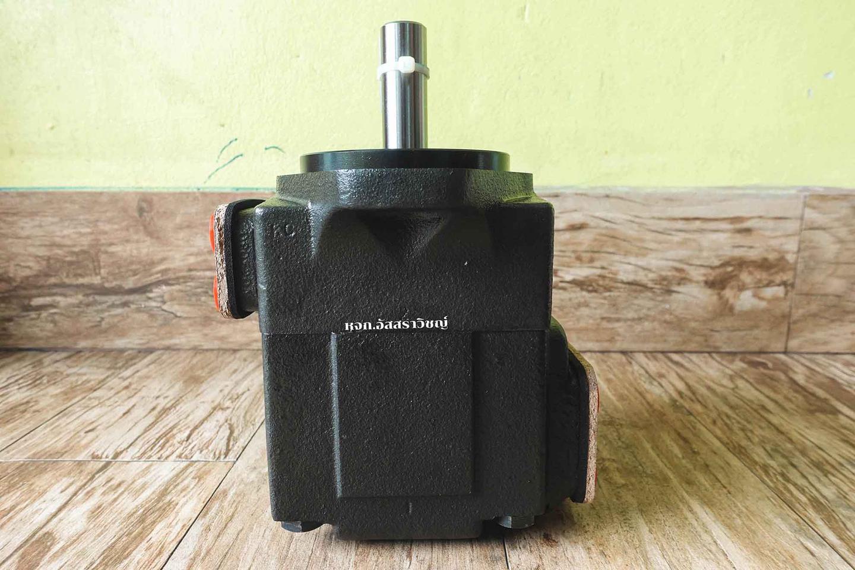 ปั๊มใบพัดแรงดันสูงตอนเดี่ยว และแบบสองตอน (vane pump) ปั๊มแรงดันสูงยี่ห้อ HOF รูปที่ 2
