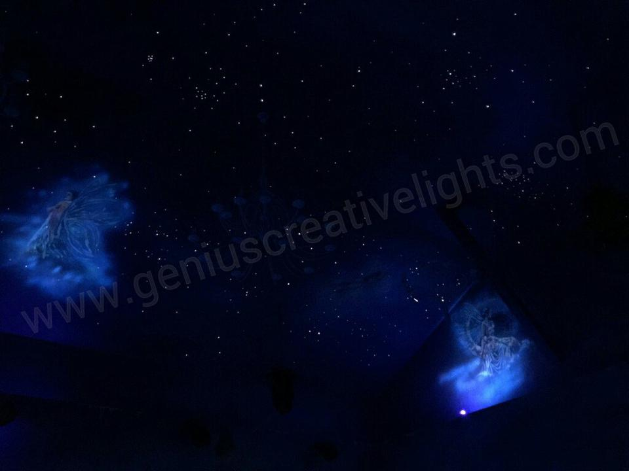 Fiber optic stars ceiling(ดาวบนฝ้าเพดาน) รูปที่ 3
