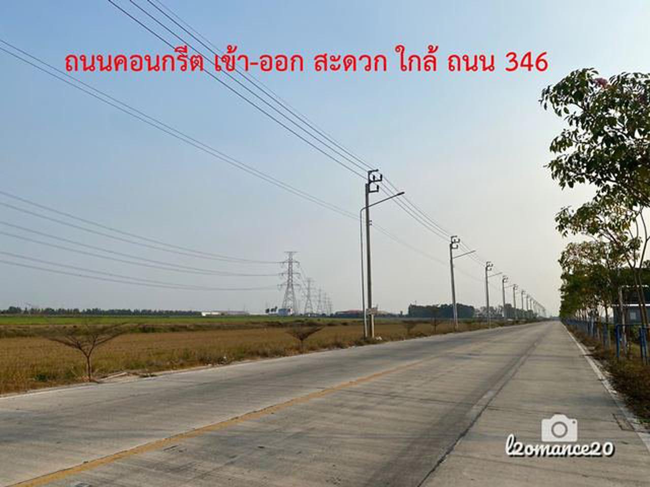 S301 ที่ดินแบ่งขาย 10 ไร่ ถมฟรี ราคา 4 ล้านบาท/ไร่ ขายที่ดินนนทบุรี รูปที่ 2