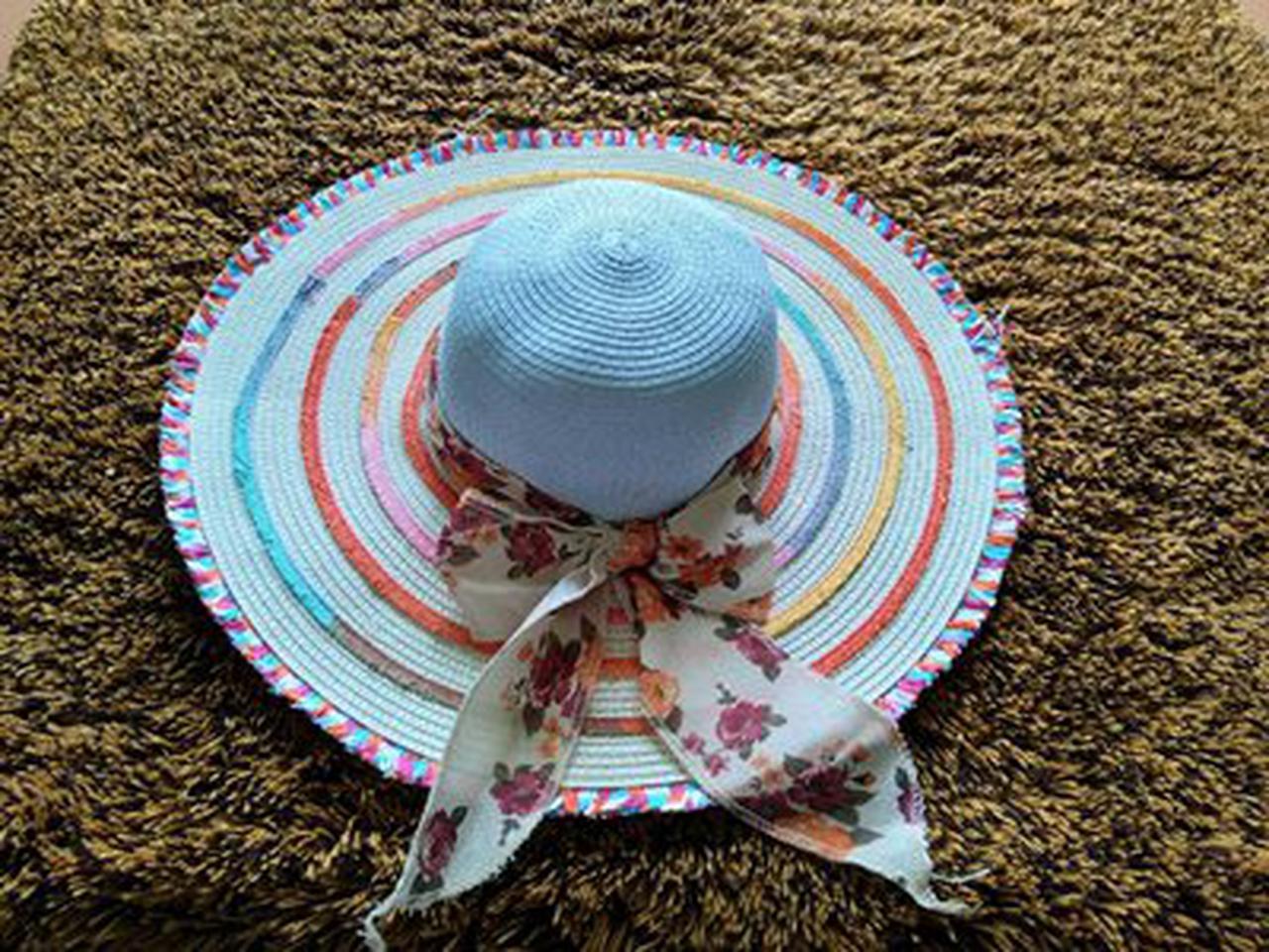 หมวกแฟชั่น หมวกไปทะเล หมวกปานามา สวยๆราคาถูกๆ รูปที่ 2