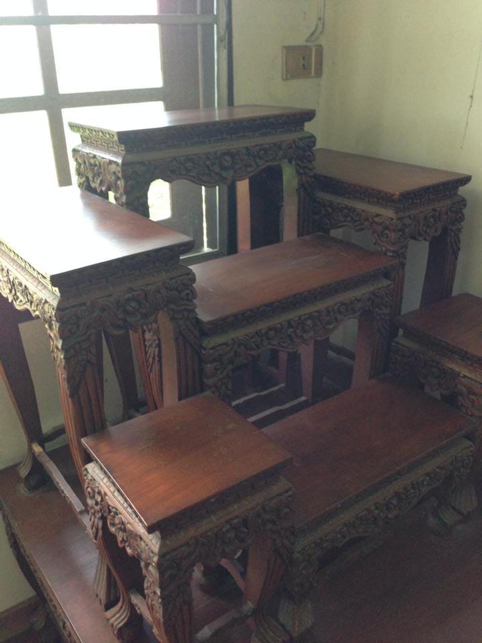 โต๊ะหมู่บูชา ไม้สัก รูปที่ 2