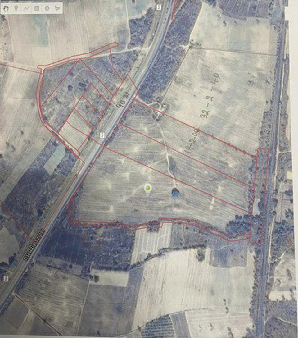 ขายที่ดินเปล่า จังหวัดอุดรธานี อยู่บนถนนมิตรภาพ เนื้อที่ 52 ไร่ 40 ตารางวา รูปที่ 4