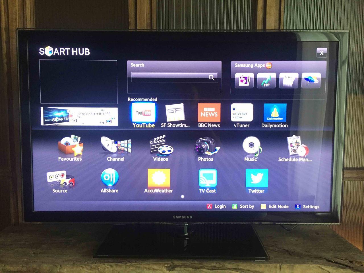 SAMSUNG SmartTV LED 40 นิ้ว รูปที่ 1