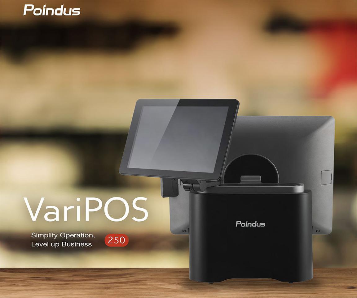 """เครื่อง POS VariPOS250 หน้าจอ 15"""" ทัชสกรีน CPU J1900 หน่วยคว รูปที่ 3"""