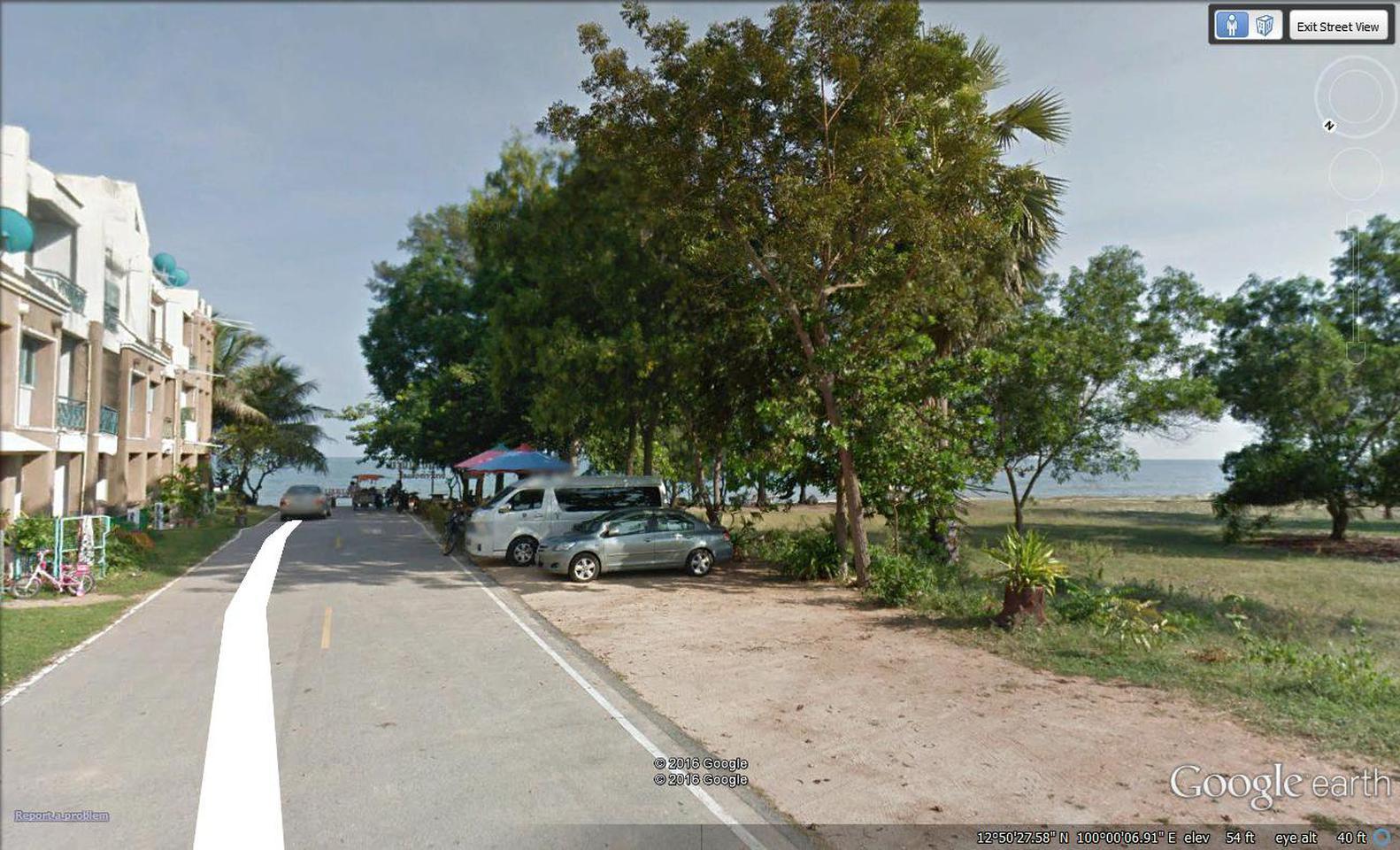 ที่ดินชายทะเล 107 ตรว. บ้านบางเกตุ ซอย2        300 ม.ถึงชายหาด บรรยากาศ สงบ รูปที่ 2