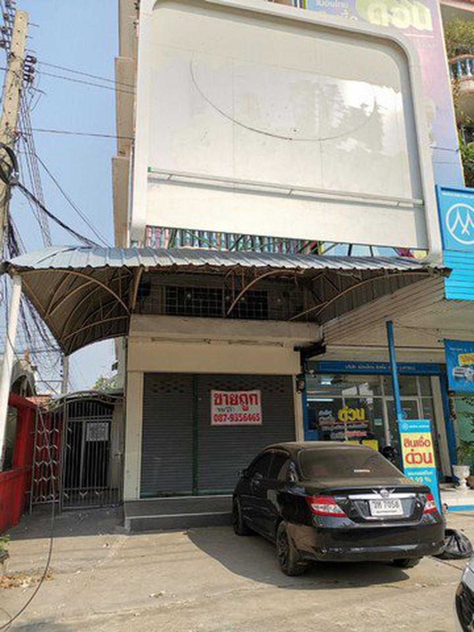 ขาย/เช่า ตึกแถว 5ชั้น  ติดริมถนนประชาอุทิศ 119 รูปที่ 1