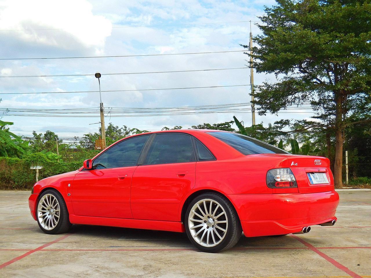 💥 AUDI ออดี้ A4 ปี 1997 เกียร์ออโต้ ไม่เคยชน สมถนะเยี่ยม ของ แต่ง เพียบ รถเก๋ง มือสอง ราคาถูก พร้อมใช้งาน รูปที่ 3