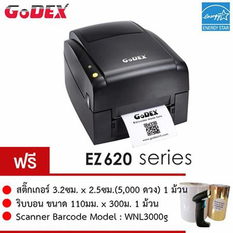 GODEX Thermal/TTR Barcode Printer Model EZ620 รูปที่ 1