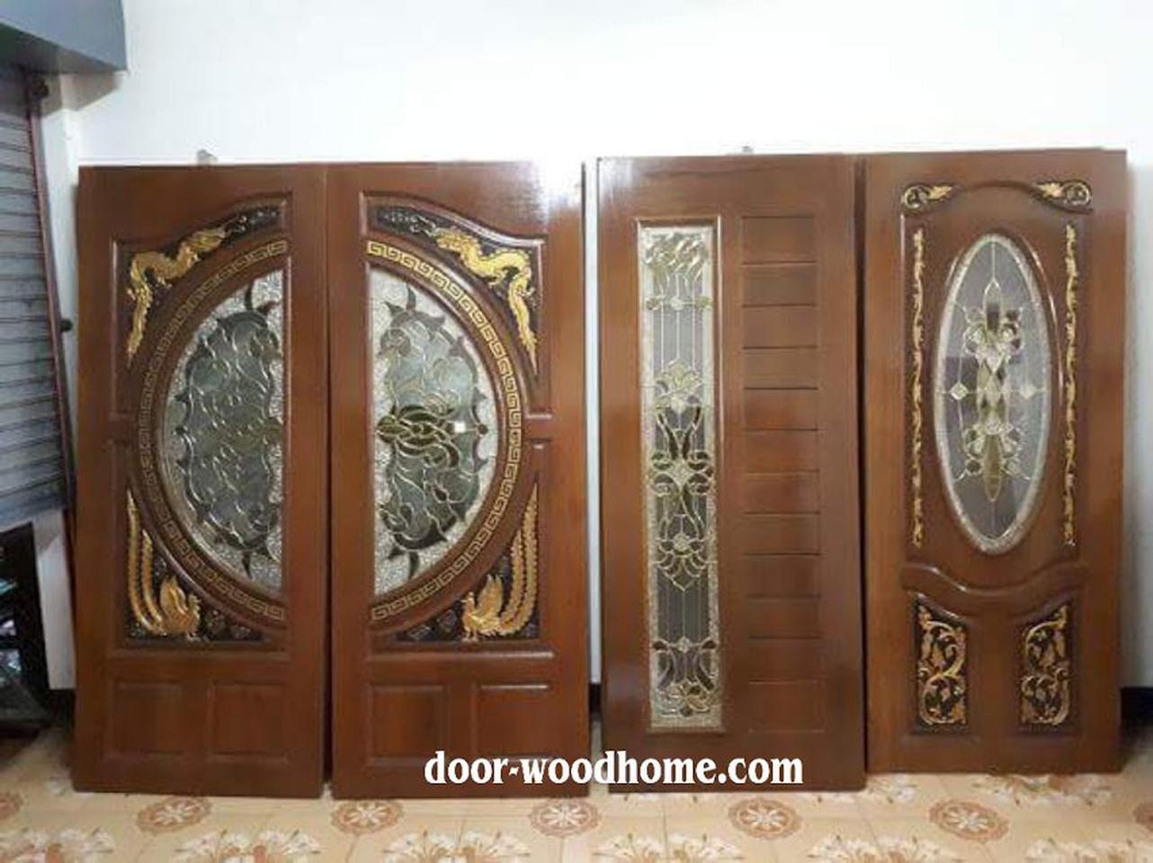 ร้านวรกานต์ค้าไม้ จำหน่ายประตูไม้สัก,ประตูไม้สักกระจกนิรภัย,เฟอร์นิเจอร์ ไม้สักทุกชนิด ทั้งปลีกและส่ง รูปที่ 4