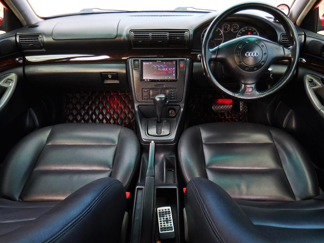 💥 AUDI ออดี้ A4 ปี 1997 เกียร์ออโต้ ไม่เคยชน สมถนะเยี่ยม ของ แต่ง เพียบ รถเก๋ง มือสอง ราคาถูก พร้อมใช้งาน รูปที่ 4