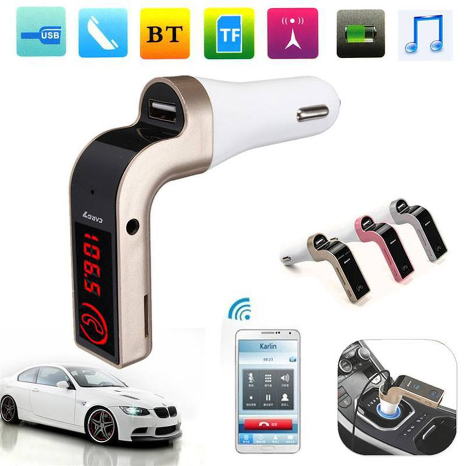 CAR G7 Bluetooth FM Car Kit รูปที่ 1