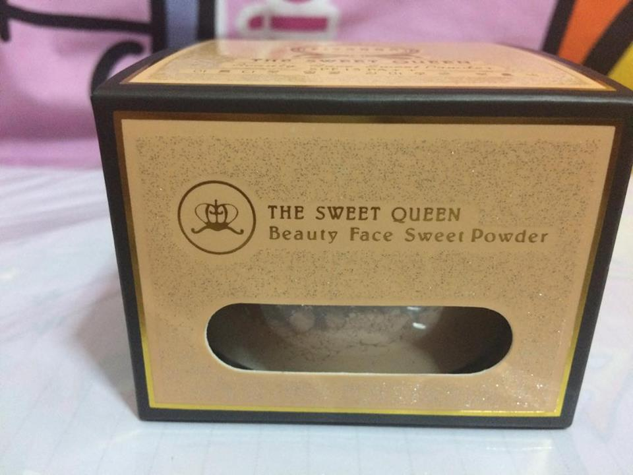 SIVINNA COLORS THE SWEET QUEEN BEAUTY FACE SWEET POWDER  ผลิตภัณฑ์แป้งทาหน้า รูปที่ 2