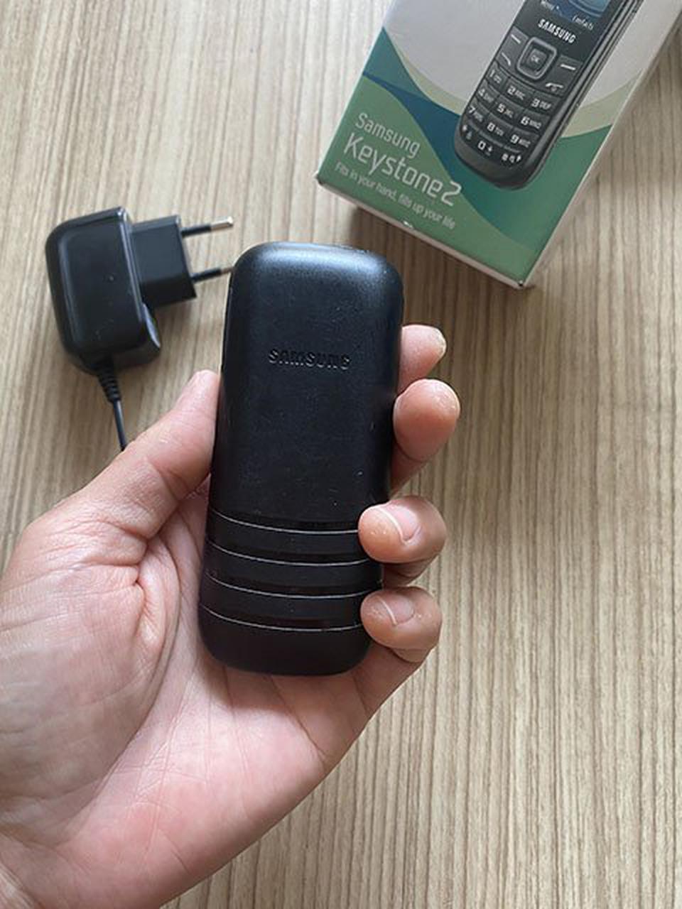 โทรศัพท์มือถือ Samsung keystone2 ซัมซุงฮีโร่เเบตอึดอยู่ได้5วัน มือสองสภาพดี ทนทาน เสียงชัด สัญญาณดี รูปที่ 1