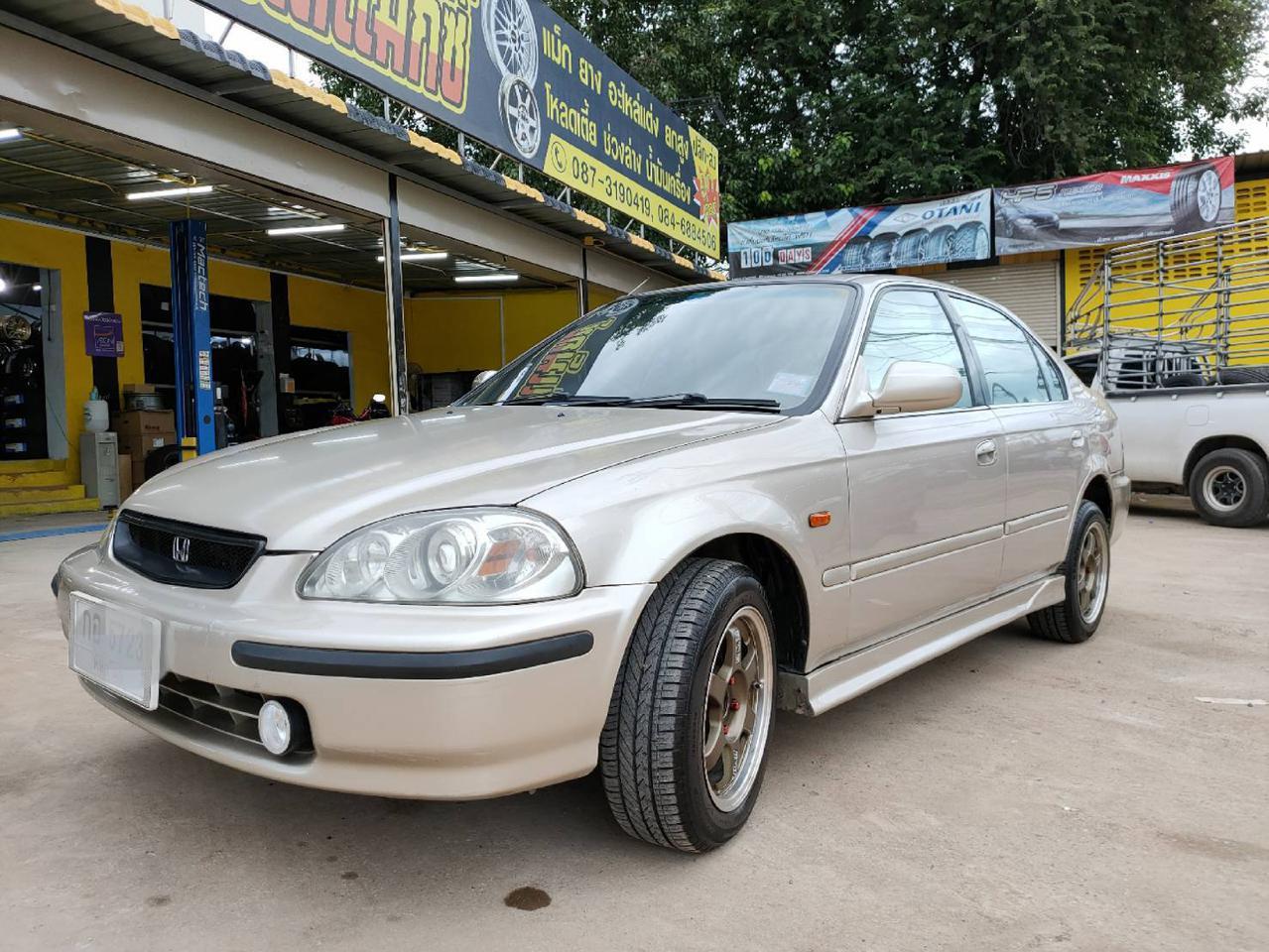 ขายรถเก๋ง Honda civic ตาโตปี 96  จ.พิษณุโลก รูปที่ 1
