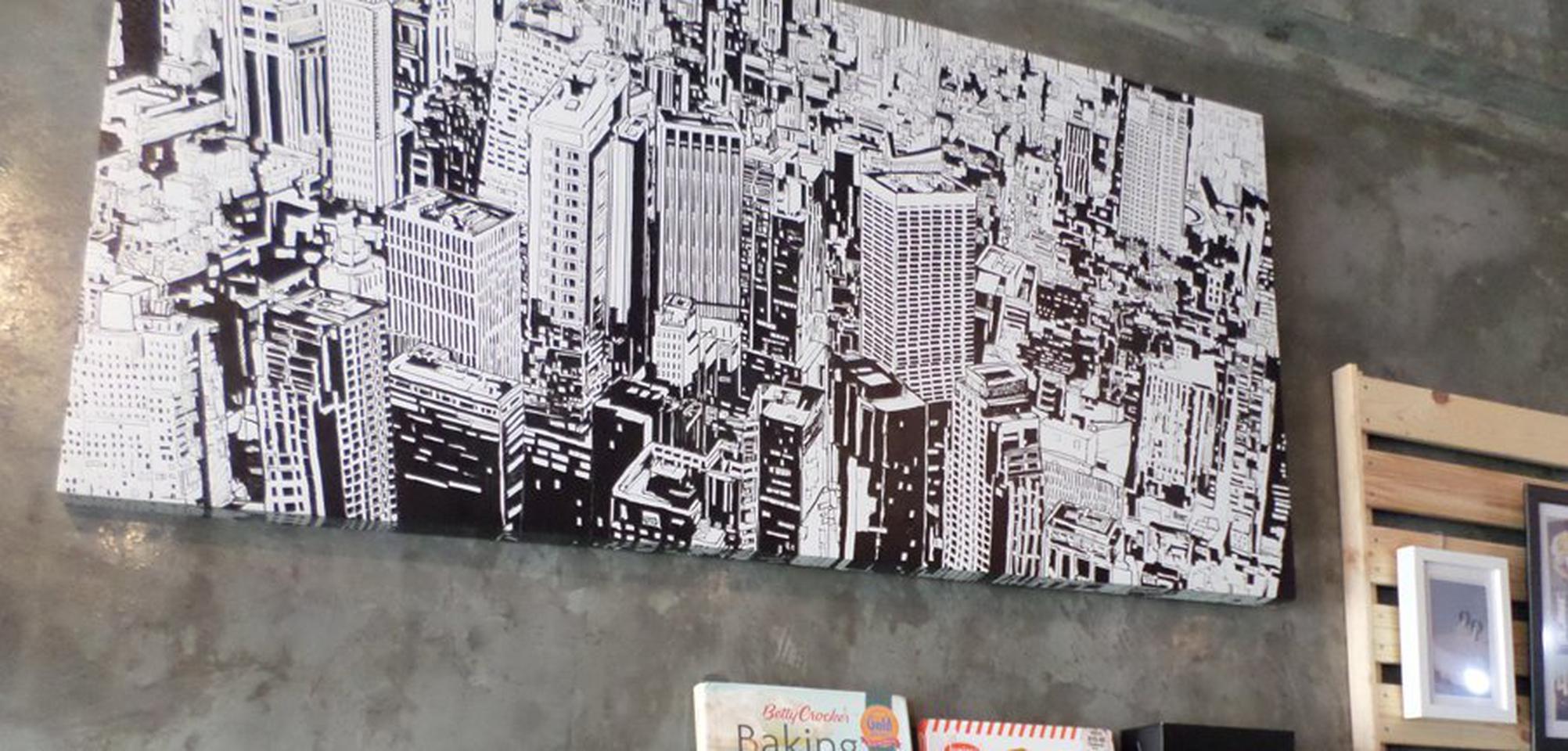 รูป black and white city รูปที่ 2